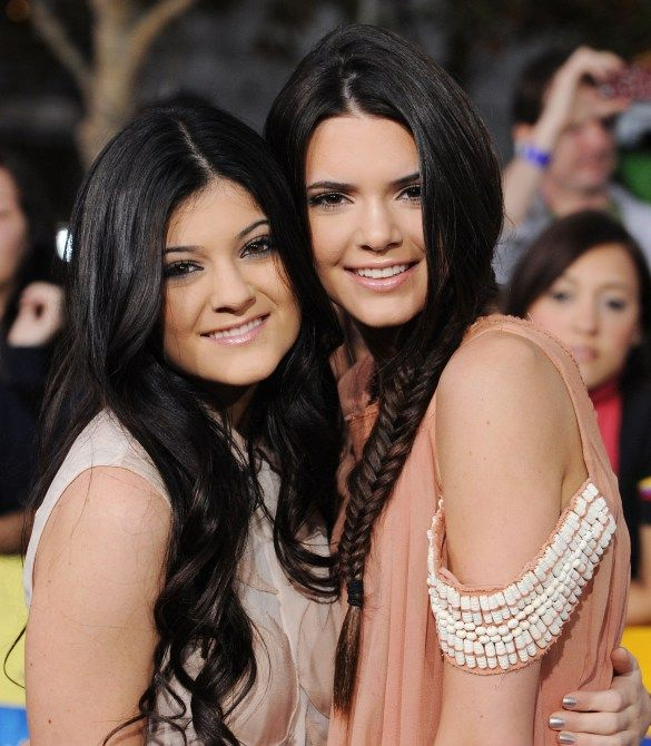 Kendall and Kylie Jenner hair