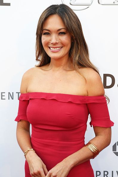 Lindsay Price attends the 5th Annual Los Angeles Food Wine Festival on August 27 2015 in Los Angeles California