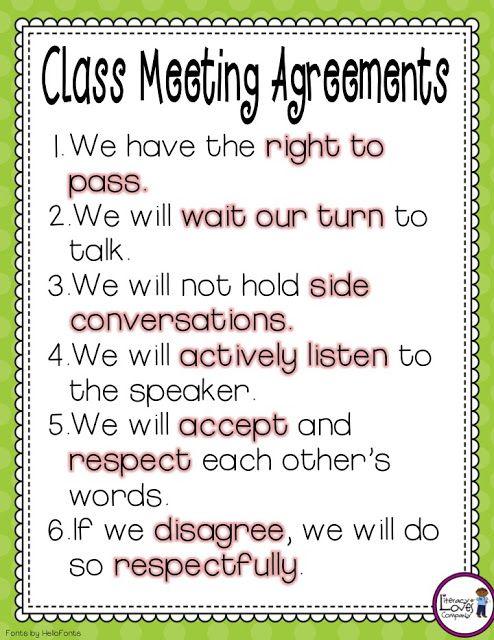Classroom Meeting Ideas ~ Ideas about class meetings on pinterest morning