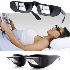 Gün geçmiyor ki tasarım ürünlerine yenileri eklenmesin. Şimdi de karşımıza çıkan ürün Lazy Glasses- Tembel Gözlüğü oldu. Tembel gözlüğü, ışınları kırarak istediğiniz açıdan kitap okumanızı ya da TV'de birşeyler seyretmenizi sağlayan bir gözlük tasarımı. https://www.ekstrafiyat.com/Lazy-Glasses-Tembel-Gozlugu,PR-1725.html