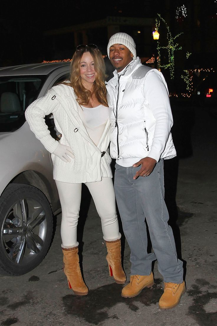 ASPEN, CO - DECEMBER 31: Mariah Carey and Nick Cannon are seen on December 31, 2011 in Aspen, Colorado.  (Photo by Bauer-Griffin/GC Images) via @AOL_Lifestyle Read more: https://www.aol.com/article/entertainment/2017/07/14/nick-cannon-broken-shattered-mariah-carey-breakup/23029928/?a_dgi=aolshare_pinterest#fullscreen