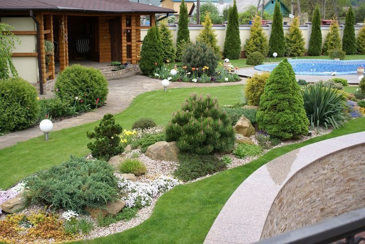 Pin By Rim Idoudi On Sad In 2020 Front Yard Landscaping Backyard Landscaping Garden Design