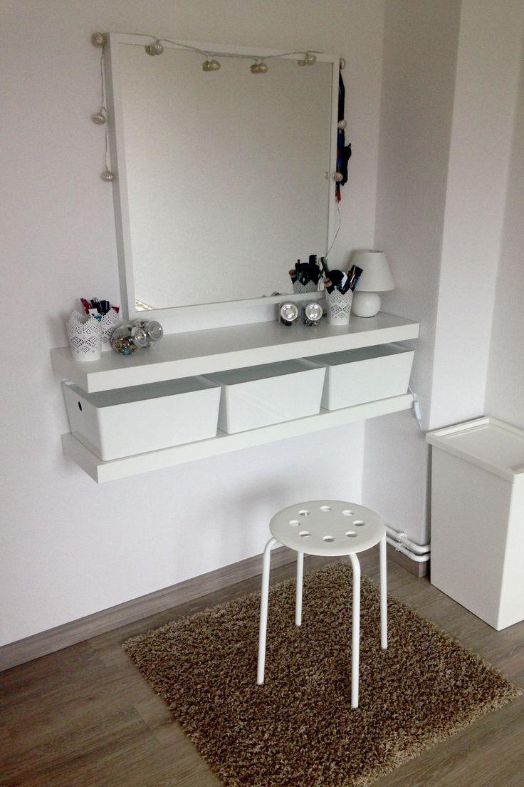 DIY make-up corner / dressing table / make-up, living, home decor