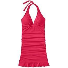 "Shirrendipity Halter Swim Dress   Athleta -  Super Cute ""Mom Suit""!"
