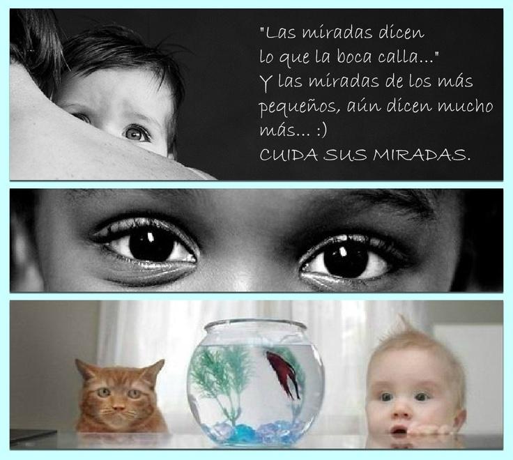 Vigila y cuida la vista de los más pequeños :)