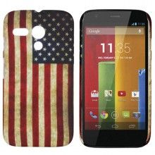 Carcasa Motorola Moto G Hard Case Bandera USA € 5,99