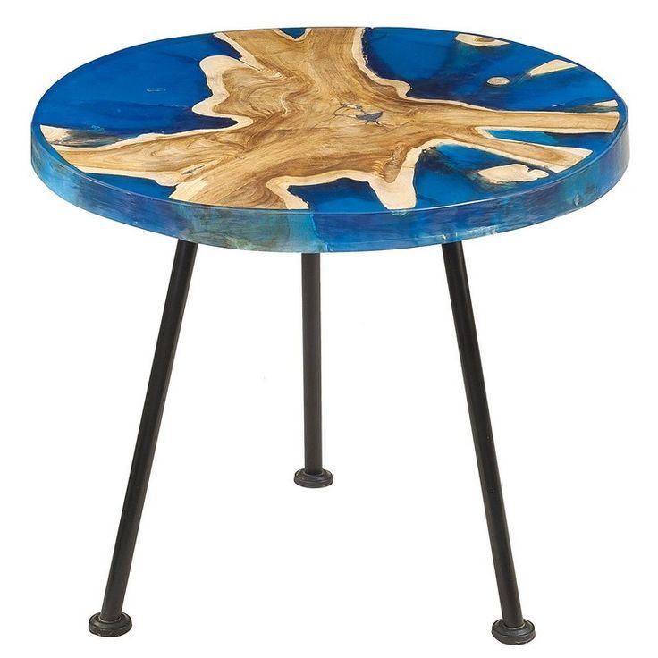 As 25 melhores ideias de wood resin table no pinterest for Cie no 85 table 4
