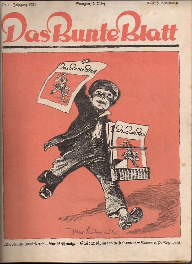 Bunte Blatt , Stuttgart , 1924