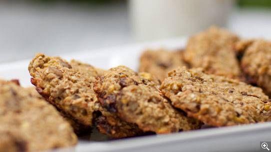 Biscuits à l'avoine et aux fruits secs