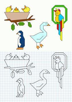cuadricula dibujos faciles - Buscar con Google