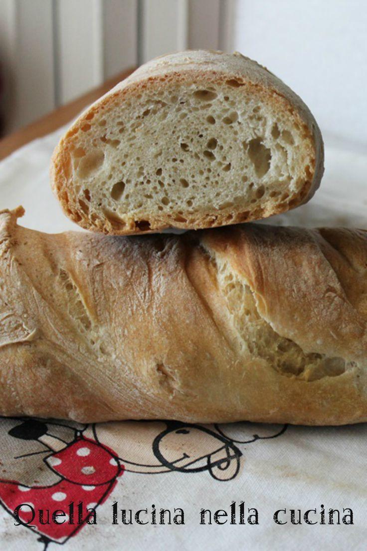 Pane con lievito di birra a lunga lievitazione