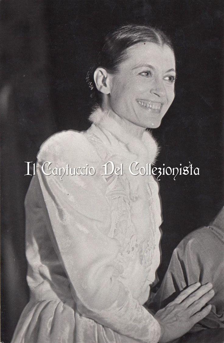 Carla Fracci Ballerina italiana Press foto Teatro Danza CBBB8 | eBay