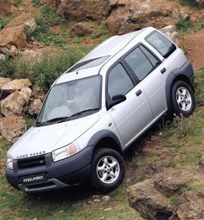 My old car. Land rover Freelander