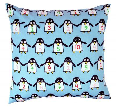 Mairo Who's First kids pillow case. Designed by Karin Mannerstål.