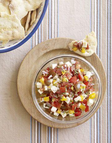 how to make chunky salsa in vitamix