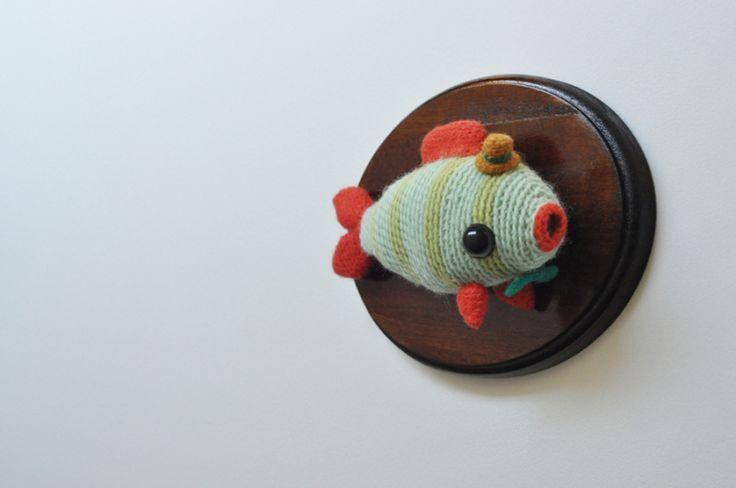 #Taxidermy #Crochet - by Sarah Grace #ECRUSTATE