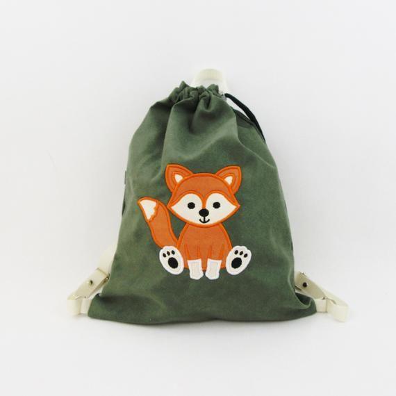 Plecak Z Liskiem Worek Z Liskiem Plecak Sportowy Plecak Przedszkolaka Plecak Z Imieniem Personalizowany Plecak Wore Personalized Backpack Bags Backpacks
