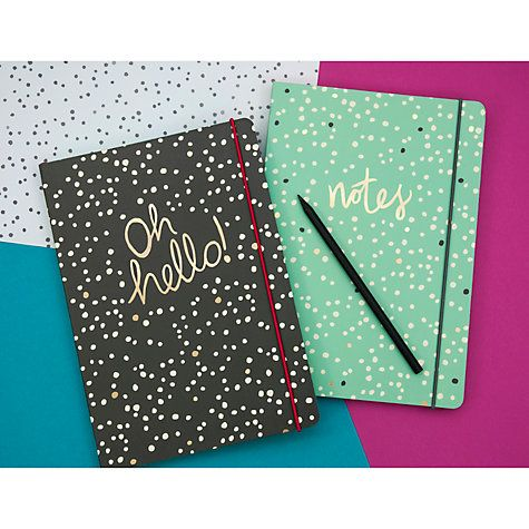 Buy Portico B5 Journal, Dotty Notes Online at johnlewis.com