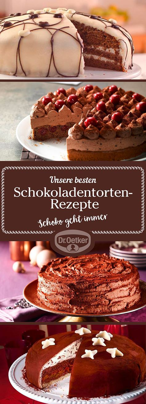 Die Mitarbeiter der Dr. Oetker Versuchsküche entwickeln für Sie gelingsichere, leckere Schokoladentorten-Rezepte für jeden Anlass - lassen Sie sich inspirieren! (Muffin Schokolade)