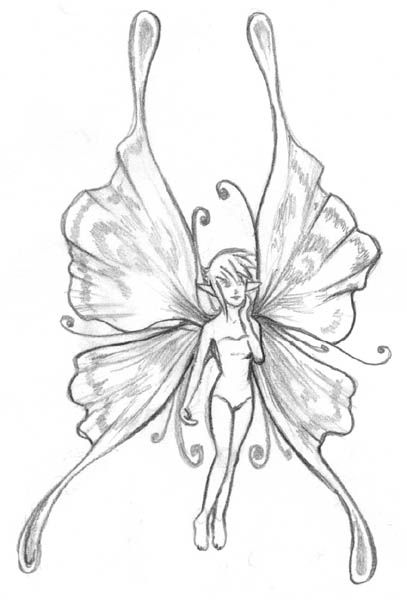 20 best DRAWING FAIRIES images on Pinterest | Drawings of ...