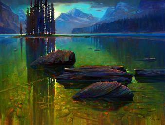 Brent Lynch Artist - Spirit Island Shallows