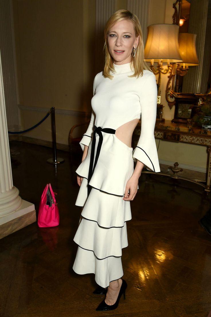Cate Blanchett em looks P&B.