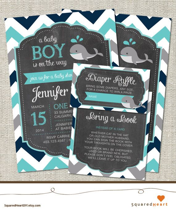 best 25+ whale baby showers ideas on pinterest | whale baby, Baby shower invitations
