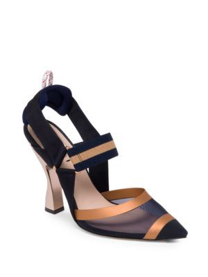 5e58ffc5708  fendi  shoes   Slingback Pump