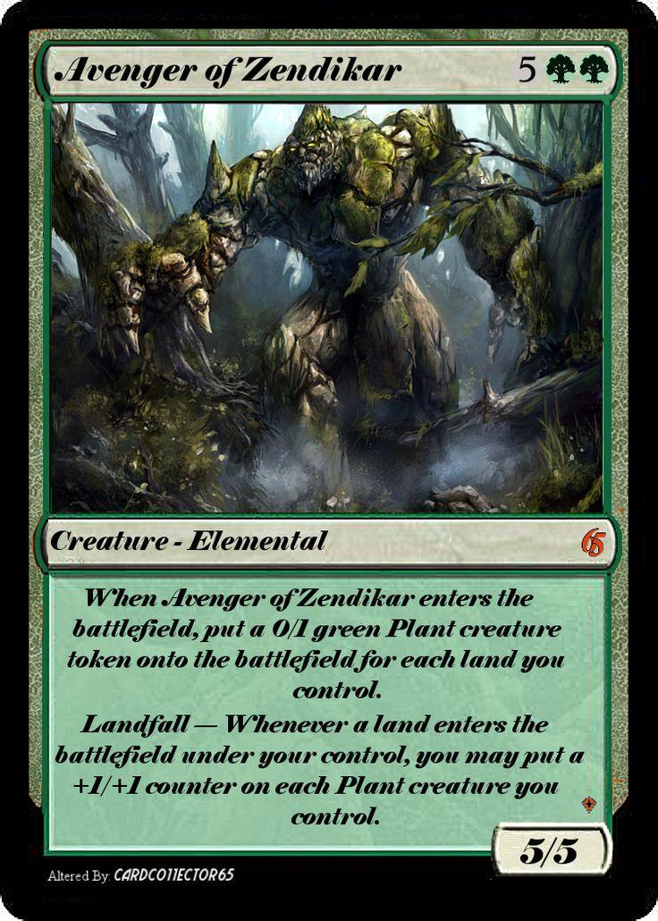 Avenger of Zendikar | Altered / Proxy MTG cards ...