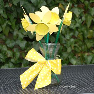 DIY crafts flowers easter