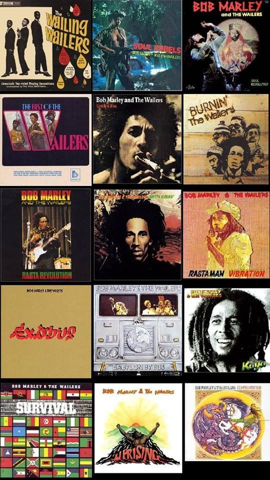 Bob Marley and The Wailers discography