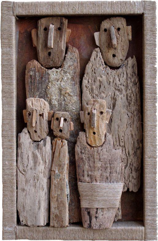 Les 25 meilleures id es de la cat gorie sculpture en bois sur pinterest scu - Bois flotte montreal ...