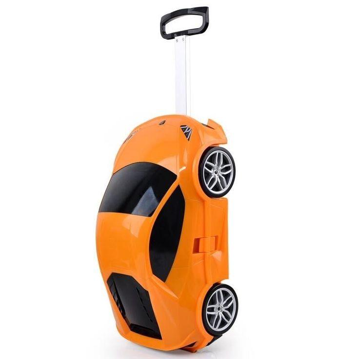 3D Supercar Kids travel bag Trolley luggage children school bag Children case #Sindermore #carryon
