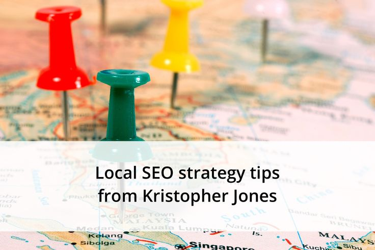 Wondering what you should focus on with your local SEO strategy? Kris Jones helps you out with some decent tips and advice!