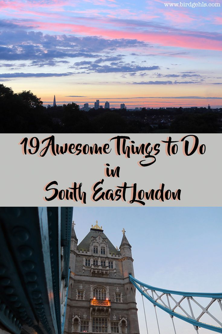 Visiting the UK's capital? Forget the north of the river, head south and turn left. Here's what you can get up to when visiting South East London, the most underrated part of the city. via @birdgehls