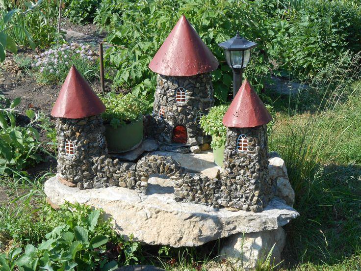 Декор камнями в саду своими руками