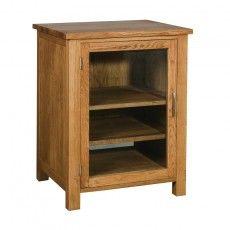 Brooklyn Oak Hi-Fi Cabinet