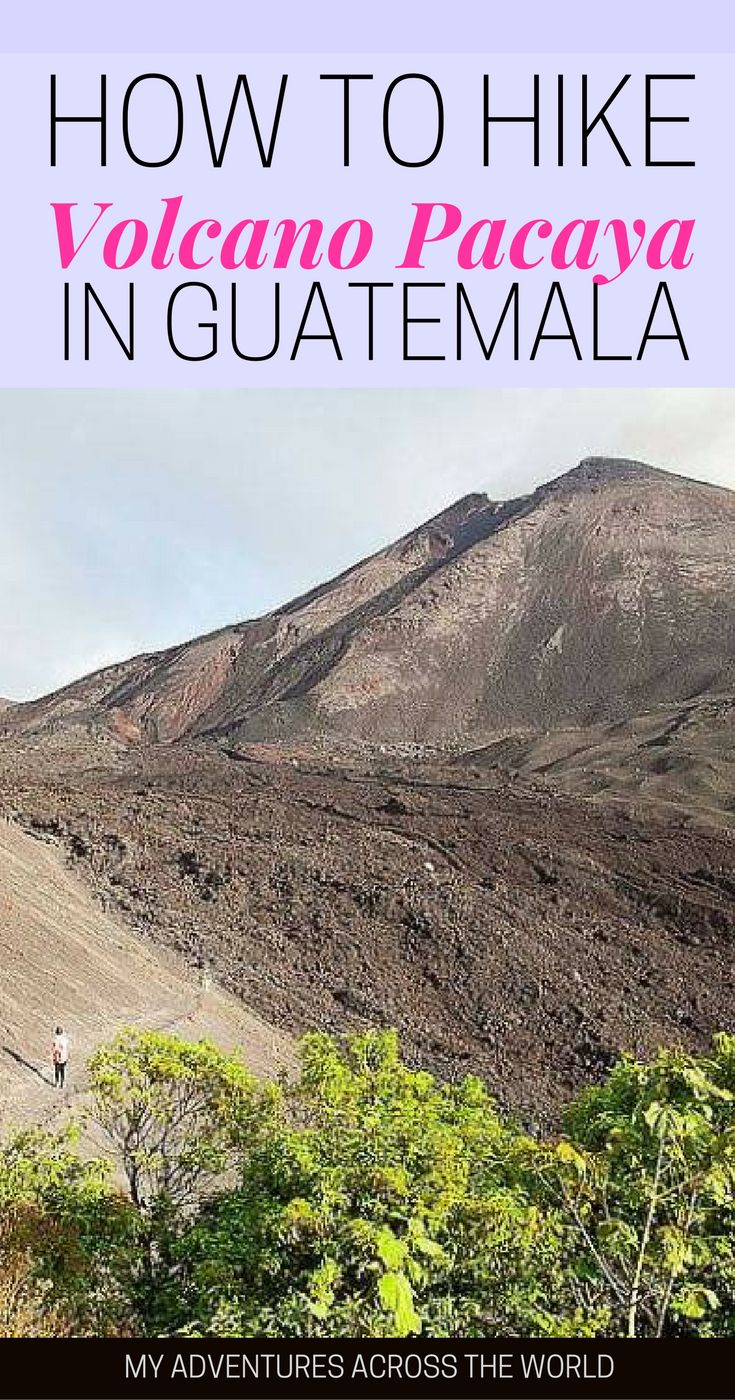 If you like a good dose of adventure, a Pacaya Volcano hike is just what you need. Guatemala is a great country to climb volcanoes, and you can easily hike Pacaya as a day trip. Discover how! | Pacaya Volcano Antigua | Volcano Pacaya Guatemala | Guatemala travel tips #Pacaya #GuatemalaTravel #Guatemala via @clautavani