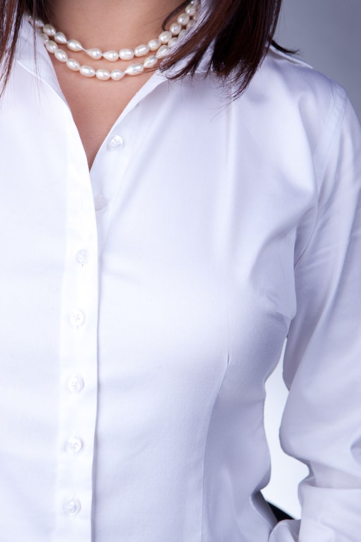 10 ideas about white button down on pinterest black for Womens button down shirts fitted