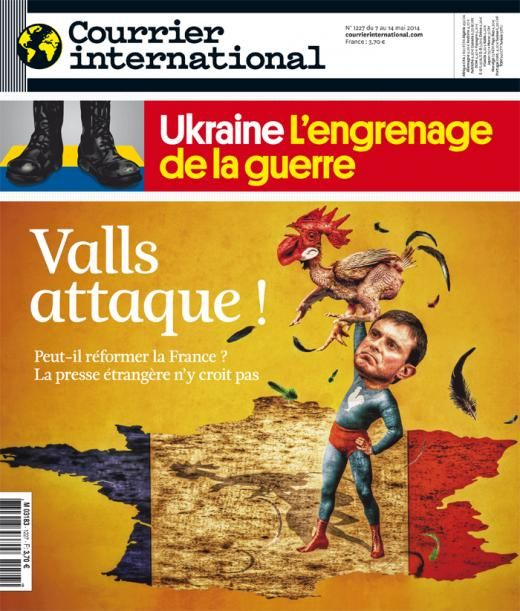 Courrier international 1227, du 7 mai 2014