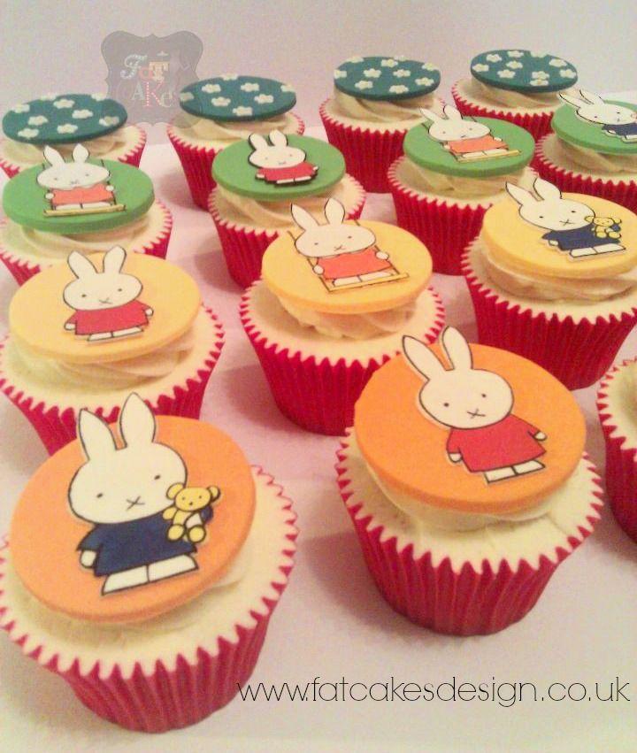 #Miffy cupcakes