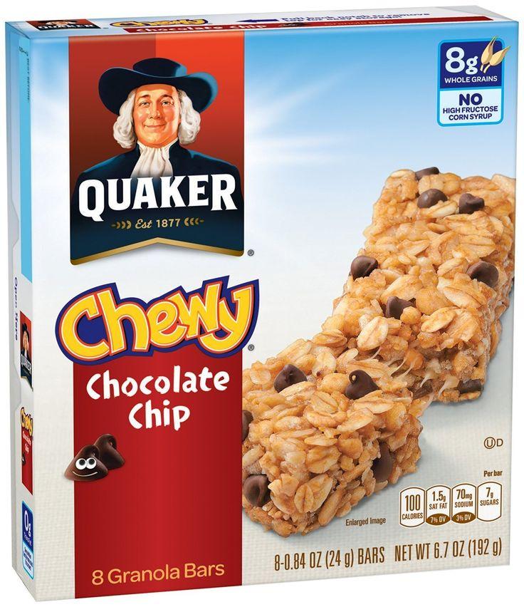 Quaker Chewy Bars ONLY 1.15 each WYB 2 at Winn Dixie