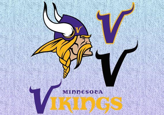 Unique Logo 4 Designs Minnesota Vikings Svg File By