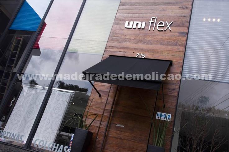 Fachadas de Madeira - Uniflex - www.madeiradedemolicao.com