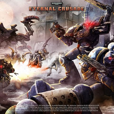 #DaddyComper Shared: Win Warhammer 40,000: Eternal Crusade Game on Steam  –  #Giveaway (WW)