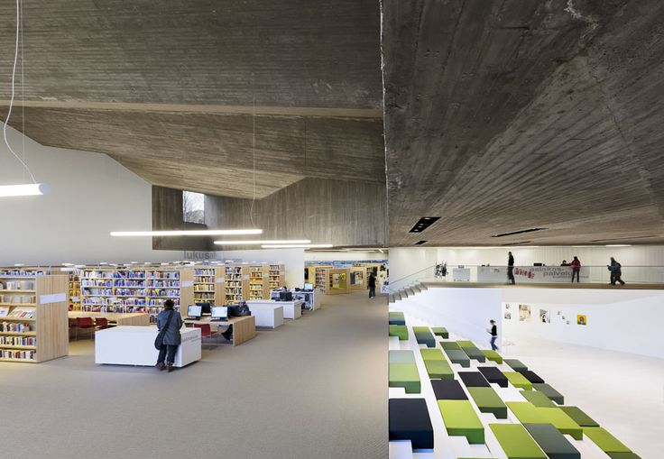JKMM Architects, nuova Seinäjoki City Library, Finlandia 2013. Photo Tuomas Uusheimo