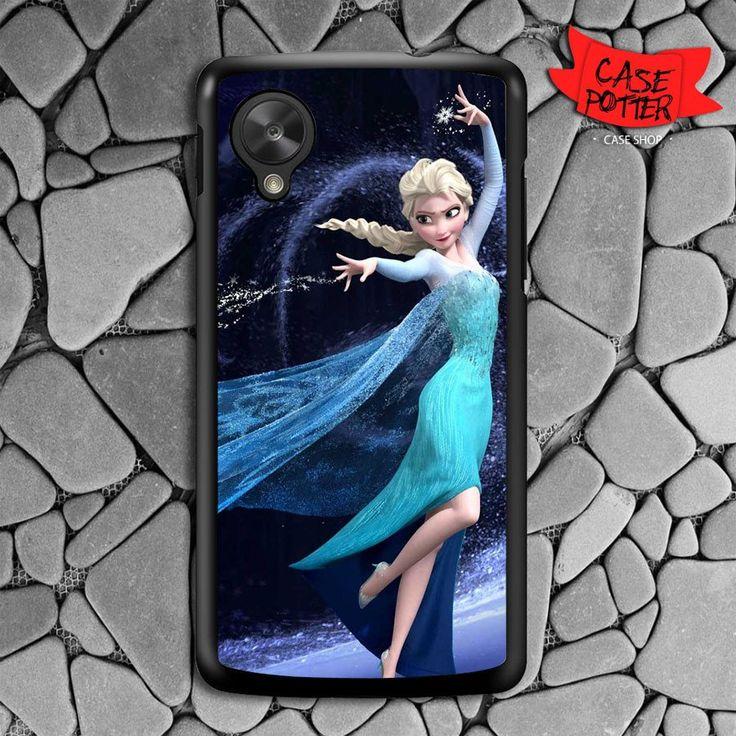 Frozen Princess Elsa Nexus 5 Black Case