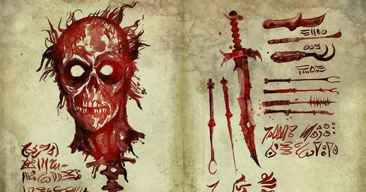 'Ash Vs Evil Dead': Look Inside the Necronomicon Book of the Dead -- Six pages of the new Necronomicon from 'Ash Vs Evil Dead' are revealed just in time for Comic Con 2015. -- http://movieweb.com/ash-vs-evil-dead-necronomicon-book-dead-photos/