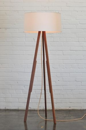 eames midcentury mid-century light walnut