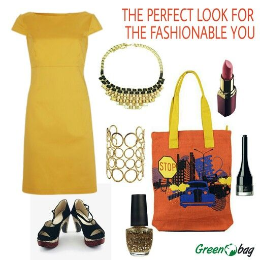 The #perfect #look #fashiontip. This season dress your best with #GreenoBag
